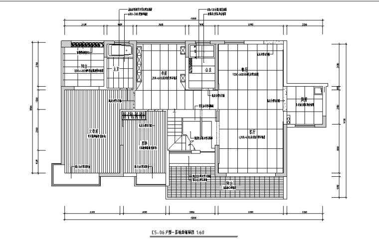 现代风格复式别墅设计施工图(附效果图)