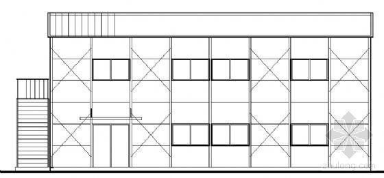 [深圳]某二层组合活动板房建筑结构施工图