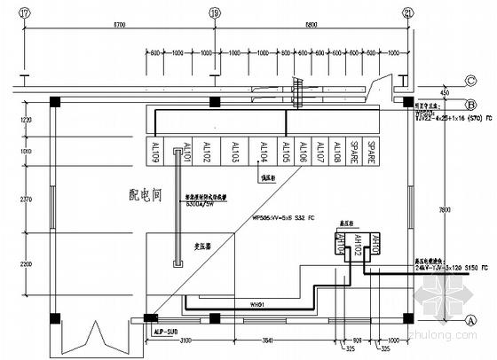 某厂房变电所图纸