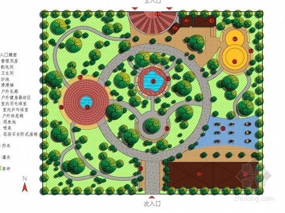 [上海]公园景观改造设计方案