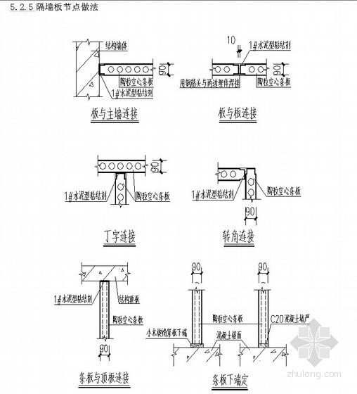 [河北]住宅工程二次结构施工方案(轻集料空心砌块)