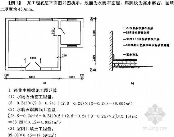 [全国]装饰装修工程量清单分部分项工程计价应用图解讲义(499页)