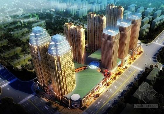 [内蒙古]artdeco风格高层城市综合体建筑设计方案文本