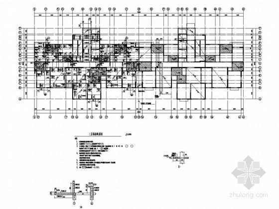 [西宁]地上30层剪力墙结构住宅楼结构施工图