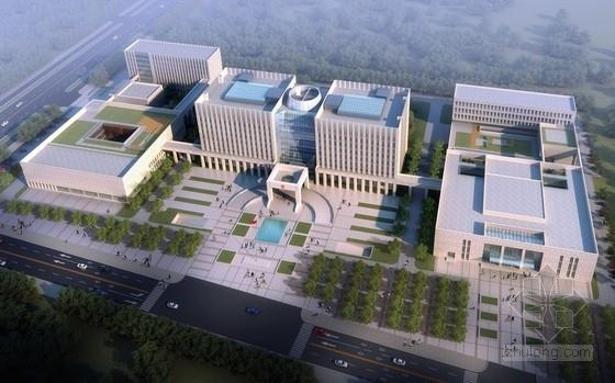 [吉林]新古典风格高级人民法院综合楼建筑设计方案文本