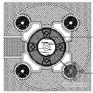 喷泉广场施工图