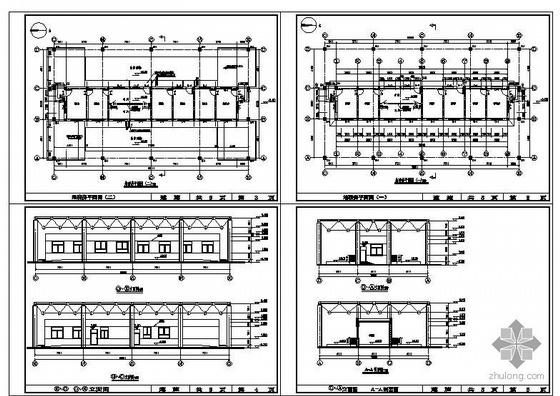 阳泉某地磅房建筑结构图
