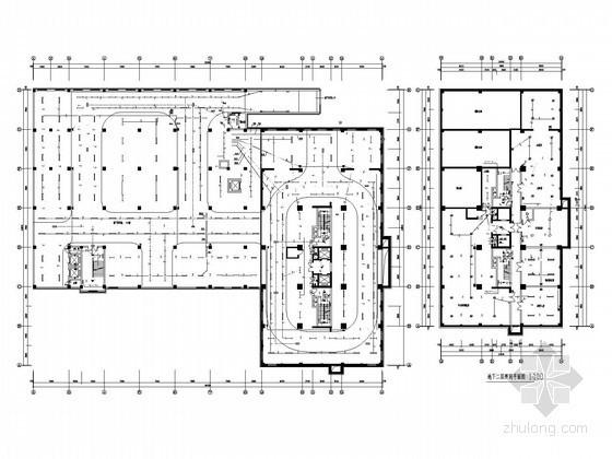 26层知名国际大酒店全套电气施工图纸