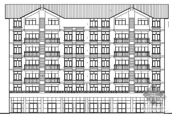 [免费资料]宜宾某小区住宅楼群建筑结构施工图