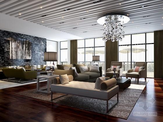 贵宾室3d模型下载