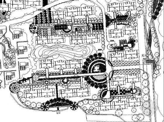 昆明花园小区景观设计施工图