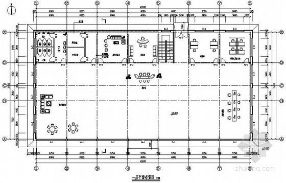 [安徽]轻型门式刚架4S店展厅结构施工图