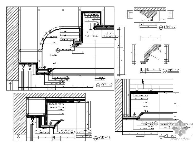 [杭州]某四居新古典样板房装修图_3