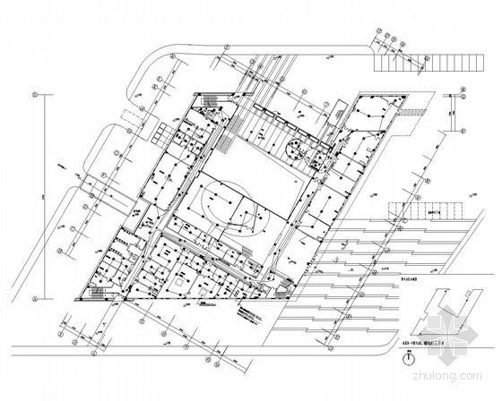 [上海]知名大学材料学院全套电气施工图纸