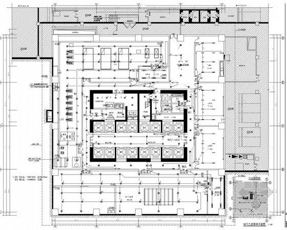 [青海]知名广场综合体全套电气图纸345张(酒店 超高层 商场 计算说明)