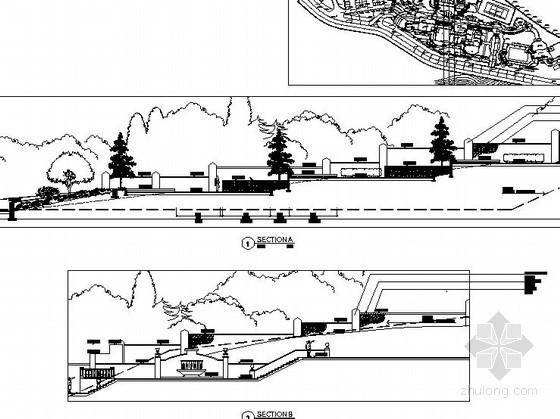 [重庆]某小区景观初步设计施工图