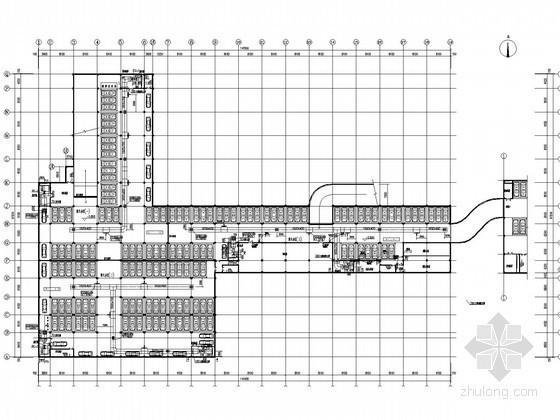 [江苏]厂房地下室车库通风防排烟系统设计施工图