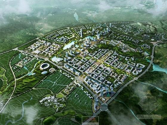[福建]绿色景观式创意产业园概念性规划设计方案文本(知名建筑设计