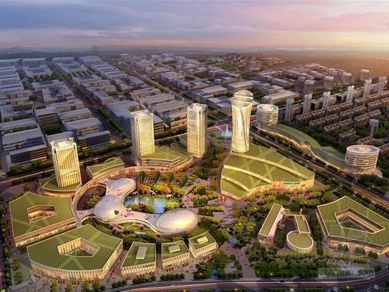[天津]城市综合体及裙房建筑安装工程量清单计价实例(地标建筑 投标报价)