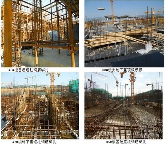 [北京]别墅主体结构施工监理月报(进度计划、照片)