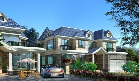 想回老家盖房子?新农村自建房及高档别墅图纸你值得拥有!_8