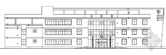 某四层旅馆建筑施工图