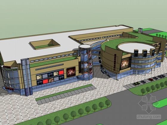 商业中心SketchUp模型下载