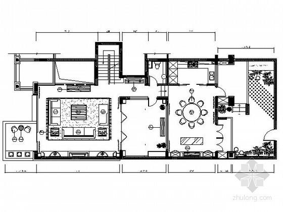 三层欧式豪华别墅施工图(含实景)