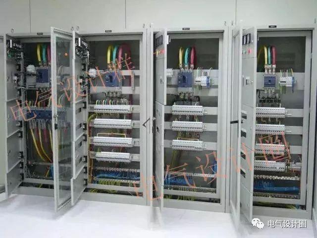 建筑电气:总分配电箱系统图学习,很全的技术!