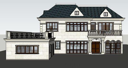 钢框架+ALC板装配式别墅案例介绍