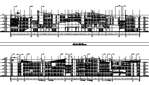 [分享]教学楼含cad资料下载自学建筑设计专业课程图片