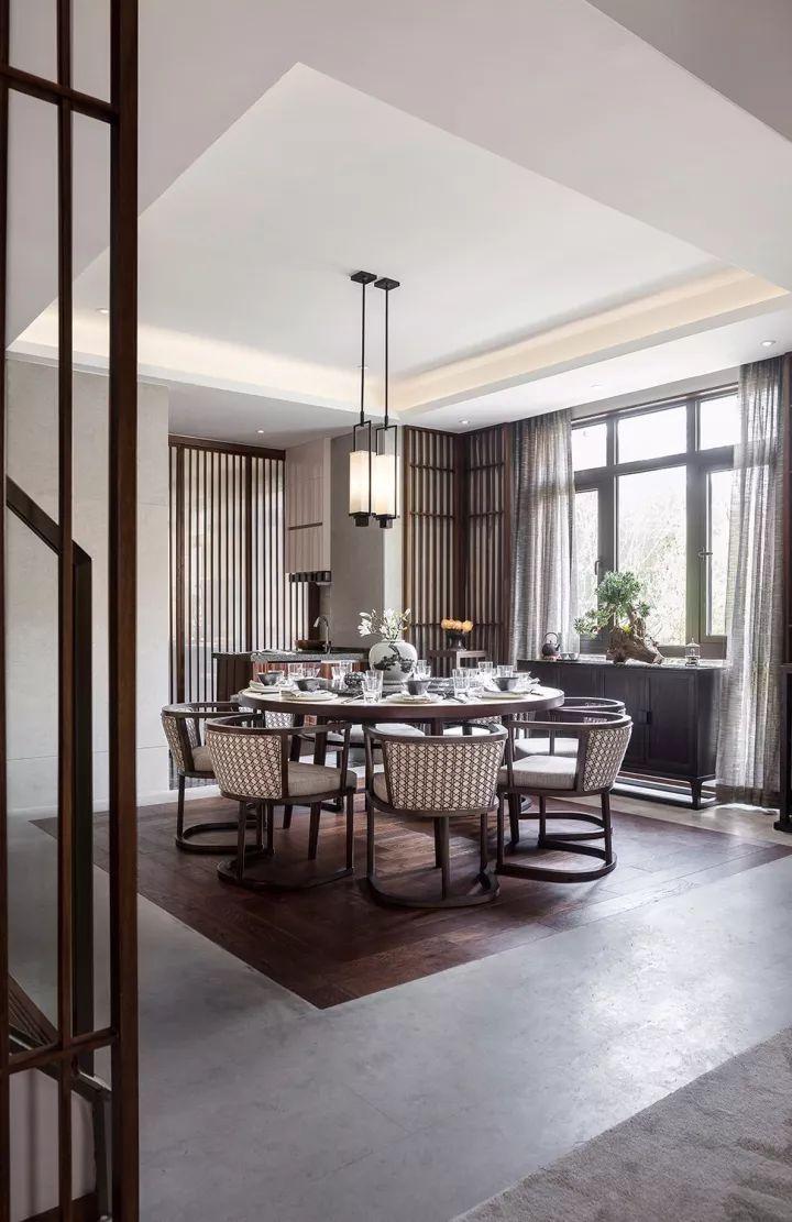 280m²新中式别墅,演绎东方极致美学!_11