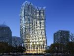 夜景建筑3D模型下载