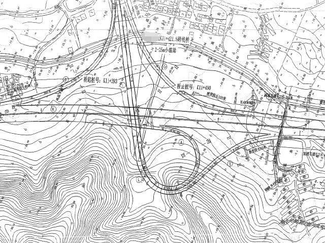33.5m宽整体式路基六车道高速公路工程竣工图全套1660页(箱梁桥板梁桥互通,隧道涵洞)