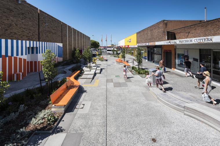 澳大利亚MorganCourt街道规划