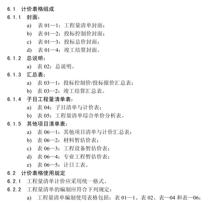 [江苏]高速公路工程工程量清单计价规范(共147页)