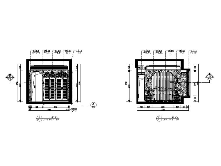 地中海风格样板房全套CAD施工图(含效果图、实景图、3D模型)-地知名地产风格样板房全套CAD施工图(含效果图、实景图、3D模型)立面图