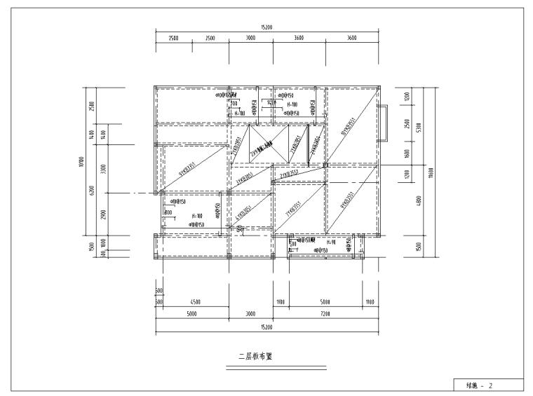 二层现代风别墅建筑设计(包含CAD)