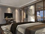 10套后现代风格宾馆套房3D模型