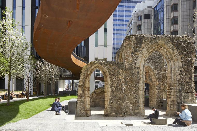 英国城墙广场景观