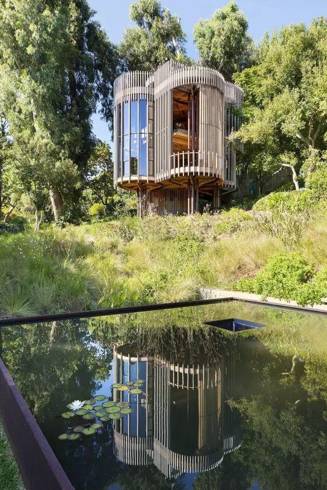 这些树屋,满足你对森林的所有幻想