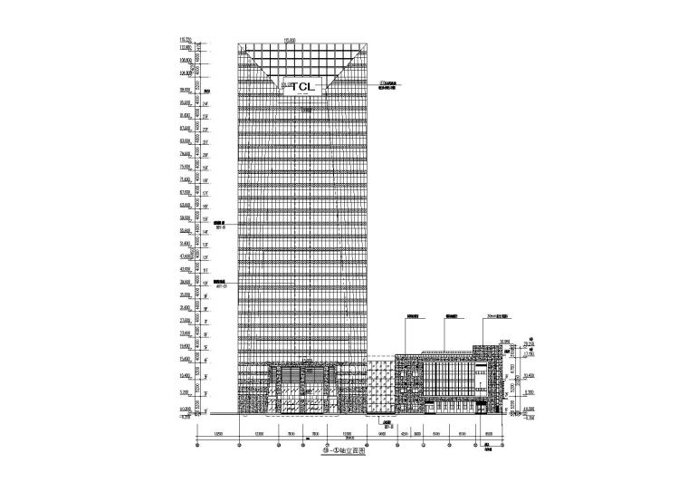TCL科技大厦幕墙施工图