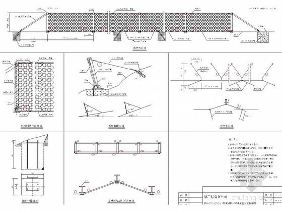RXI型被动防护系统施工安装标准图
