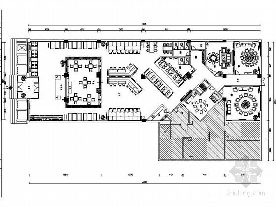 [原创]接地气的地方特色主题餐厅施工图(含高清效果图)