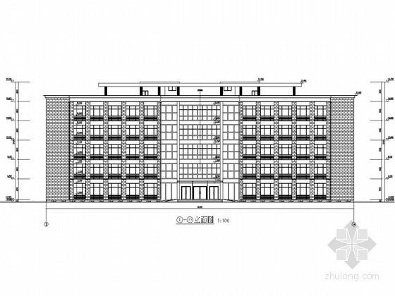 框架结构办公楼设计平面图资料下载-[学士]五层框架结构办公楼毕业设计(含建筑图 结构图 计算书)