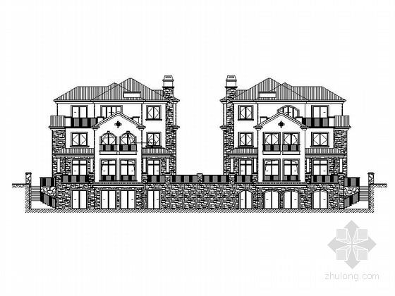 [兰州]三层塔楼式居住建筑施工图