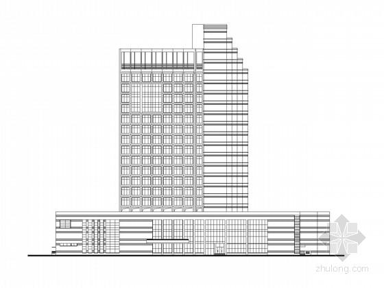 [东莞]二十一层办公楼建筑施工图