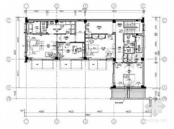 [辽宁]新中式三层别墅样板房室内装修设计方案