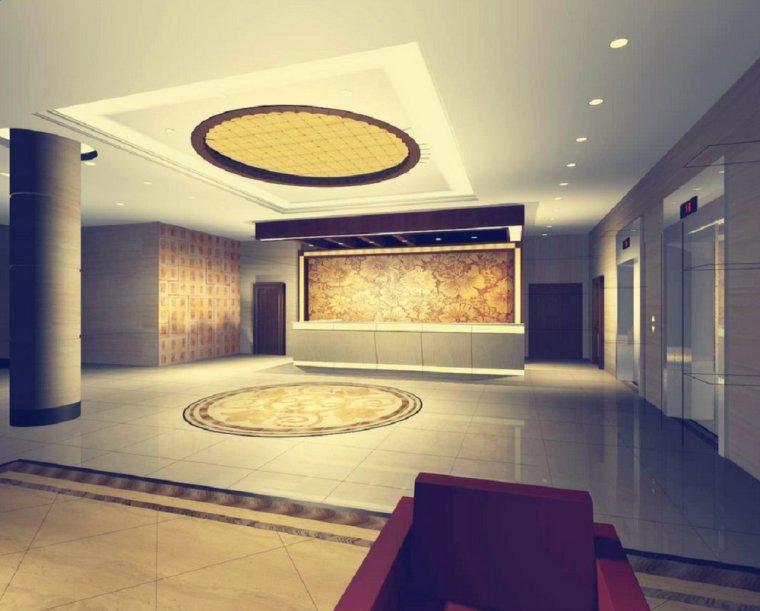 快捷酒店设计-设计效果图