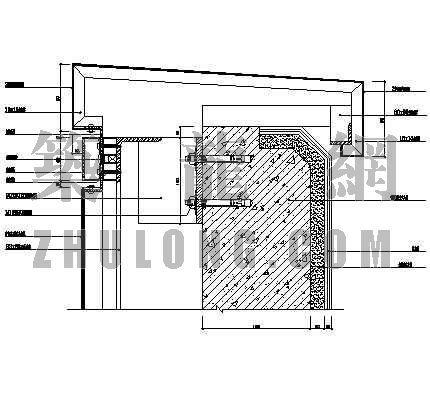复合铝板幕墙标准大样图3